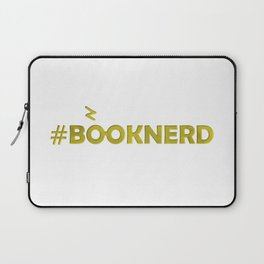 #BOOKNERD with scar Laptop Sleeve