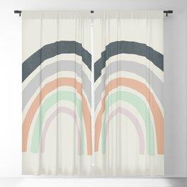 Abstract Rainbow Blackout Curtain