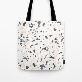 Multi-Colored Terrazzo Pattern - Pink, Brown, Cream, Gray Tote Bag