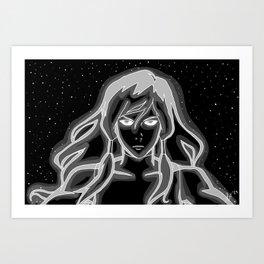 Korra's Spirit Art Print