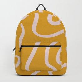 Caramel Wood Backpack