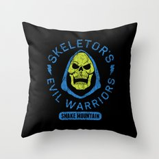 Bad Boy Club: Skeletor's Evil Warriors  Throw Pillow
