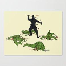 The Real Ninja Part 1 Canvas Print