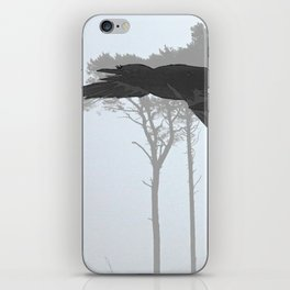 Crow Goes Hunting iPhone Skin