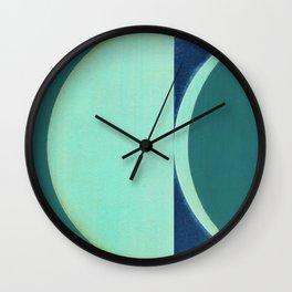 Waning Crescent Wall Clock