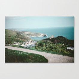 Lulworth Cove Canvas Print