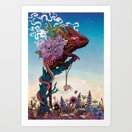 Phantasmagoria II Art Print