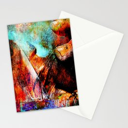La Barca ( collaboration with the talented artist Agostino Lo coco) Stationery Cards