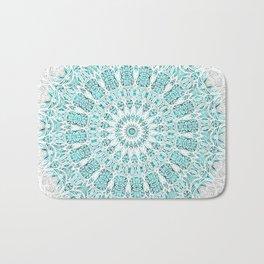 A Glittering Mandala Bath Mat
