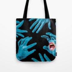 Screaming Hand Tote Bag
