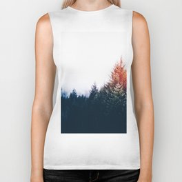 Waking up in a forest Biker Tank