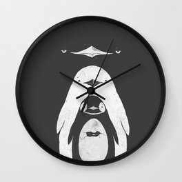 Penguinception - The Penguins Wall Clock