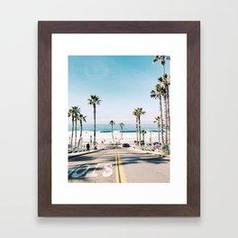 Oceanside, CA Framed Art Print