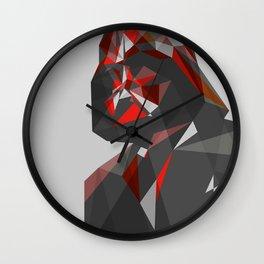 LowPolyVader Wall Clock