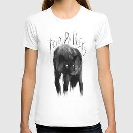 black dog T-shirt