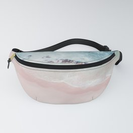 Ocean Pink Blush Fanny Pack
