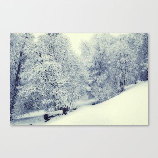 Snow World Canvas Print