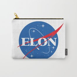 Elon Space Logo Carry-All Pouch