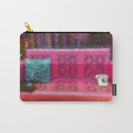 Retro in Full Color Carry-All Pouch