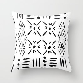 Graphic X's Throw Pillow