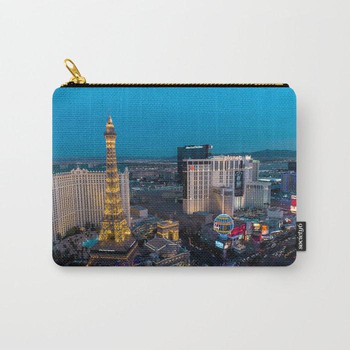 Vegas Strip - Paris Carry-All Pouch
