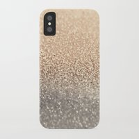 brown iPhone & iPod Cases featuring  GOLD by Monika Strigel