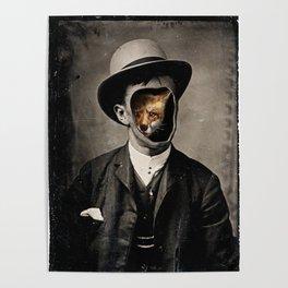Gentleman Fox Poster
