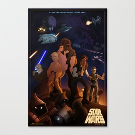 I grew up with a new hope Canvas Print