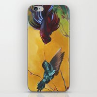 foo fighters iPhone & iPod Skins featuring The Fighters by Kat Ward