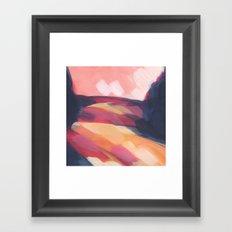 Mini Postcard for March Framed Art Print