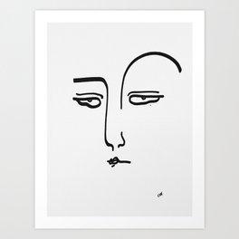 Jasmine's Judging Art Print