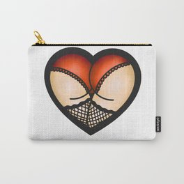 Heart Shaped Booty Carry-All Pouch
