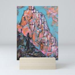 Approaching the City of Shadows Mini Art Print