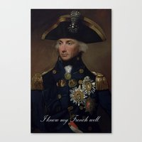 french Canvas Prints featuring French by MrWhite