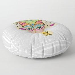 libra zodiac sign Floor Pillow