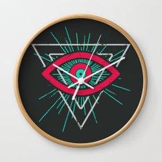 Illuminati (alt color) Wall Clock