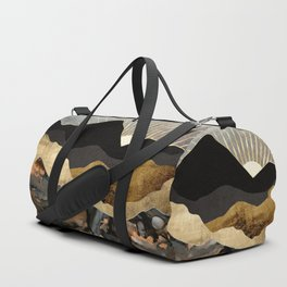 Copper and Gold Mountains Duffle Bag