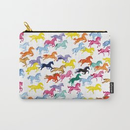 Rainbow Ponies Carry-All Pouch