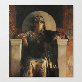 The Empress Theodora, Jean-Joseph Benjamin-Constant Canvas Print