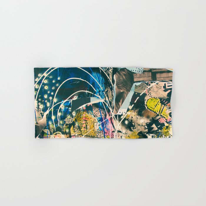 Art Graffiti vintage 4 Hand & Bath Towel