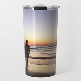 Sunset Surf Moment Travel Mug