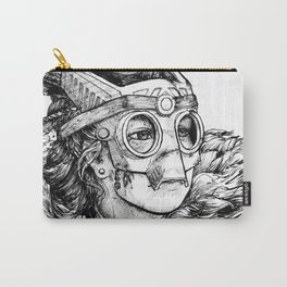 Masked warrior princess Carry-All Pouch