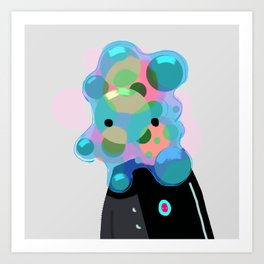 Bubblehead Art Print