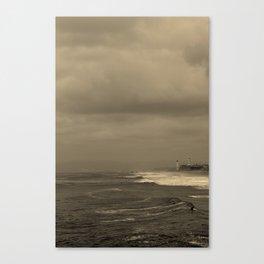 Manhattan Beach Canvas Print