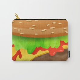 Close Encounter of the Cheeseburger Carry-All Pouch