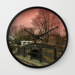 Slaithwaite Canal Bridge  Wall Clock