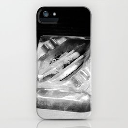 2 Cigarettes In An Ashtray iPhone Case