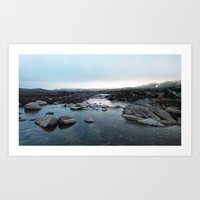 Mouth of the Snowy River, Kosciuszko National Park, NSW Art Print