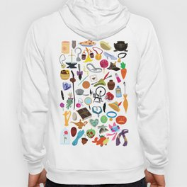 56 Pieces of Animation Hoody