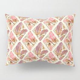Beige Feather Royale Pillow Sham